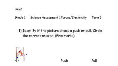 Photo of اسئلة علوم فصل ثالث صف أول منهج انجليزي