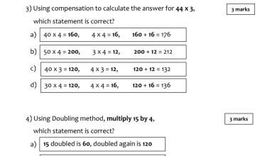 Photo of مراجعة رياضيات فصل ثالث صف خامس منهج انكليزي