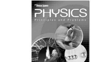 Photo of دليل فيزياء باللغة الإنكليزية صف عاشر متقدم