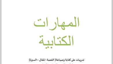 Photo of مهارات كتابية لغة عربية صف سادس وسابع فصل ثالث