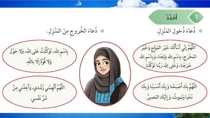 حل درس آداب دخول المنزل تربية إسلامية صف رابع