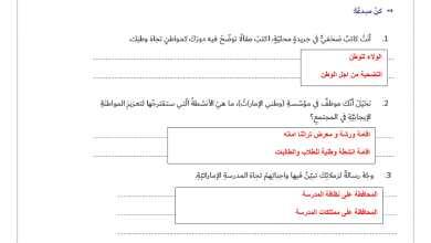 Photo of حل درس المواطنة الإيجابية دراسات اجتماعية فصل أول صف سادس