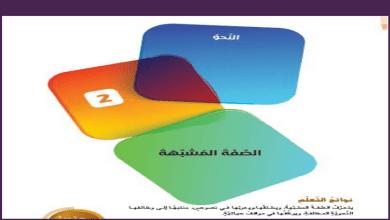 Photo of حل درس صفة المشبهة لغة عربية صف عاشر فصل أول