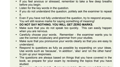 Photo of امتحان محادثة لغة إنجليزية صف عاشر فصل أول