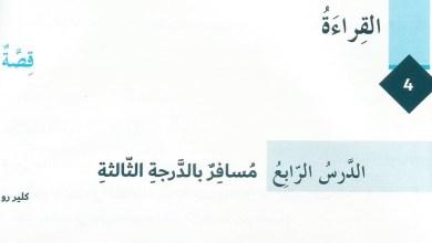 Photo of حل درس مسافر بالدرجة الثالثة عربي ثامن الفصل الاول