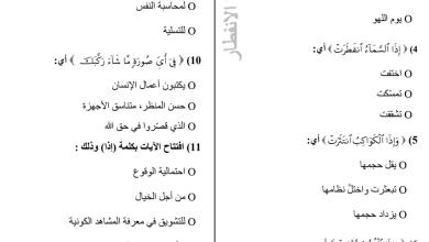 Photo of أوراق عمل تربية إسلامية صف خامس فصل أول