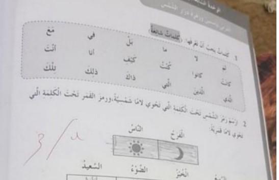حل درس ياسمين وزهرة دوار الشمس لغة عربية صف رابع