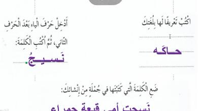 Photo of حل درس بلا قبعة لغة عربية صف ثاني فصل ثاني