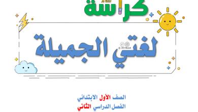 Photo of أوراق عمل تدريب للحروف الهجائية لغة عربية صف أول فصل ثاني