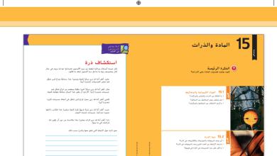 Photo of دليل المعلم علوم الوحدة الرابعة المادة والذرات صف سادس فصل ثاني
