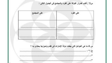 Photo of أوراق عمل شاملة تربية إسلامية صف ثامن فصل ثاني