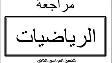 Photo of مراجعة رياضيات الوحدات 5-6-7-8 صف عاشر عام فصل ثاني