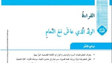 حل درس بيضات النعام في الرمل لغة عربية سابع