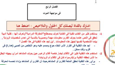 Photo of حل درس في مواجهة الموت رواية الولد الذي عاش مع النعام
