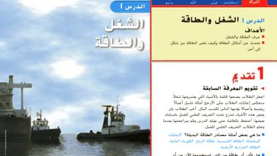 Photo of حل درس الشغل والطاقة علوم صف ثالث فصل ثالث