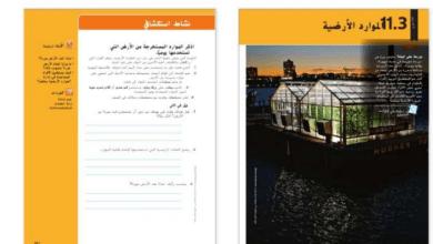 Photo of دليل المعلم درس الموارد الأرضية علوم صف سادس فصل ثالث