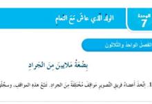 Photo of حل الفصل الحادي والثلاثون بضعة ملايين من الجراد (الولد الذي عاش مع النعام )