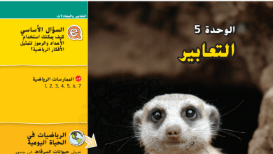 Photo of كتاب الطالب الوحدة الخامسة التعابير رياضيات صف سابع فصل ثاني