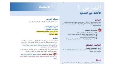 Photo of حل درس الأنماط غير العددية رياضيات صف رابع فصل ثاني