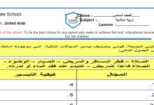 Photo of أوراق عمل محلولة تربية إسلامية صف سادس فصل ثاني