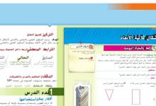 Photo of حل درس رسم الأشكال الثلاثية الأبعاد رياضيات صف سابع فصل ثاني