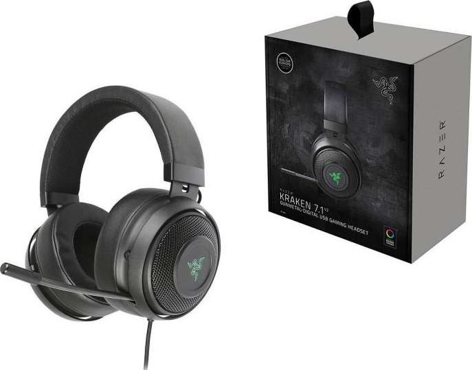 Razer Kraken 7.1 V2 Oval Ear Cushions Noise Isolating ...