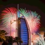 Burj Al Arab Fireworks 2018