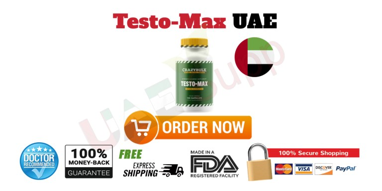 Buy Testo-Max in UAE