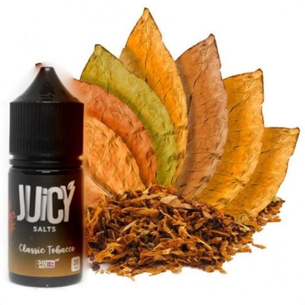 JUICY SALTS CLASSIC TOBACCO 30ML | Buy vape shop in UAE Uae Vape Club - Best Online Vape Dubai Shop in Buy Vape Kits, Liquids, Pods, Batteries, Mod, Device, etc