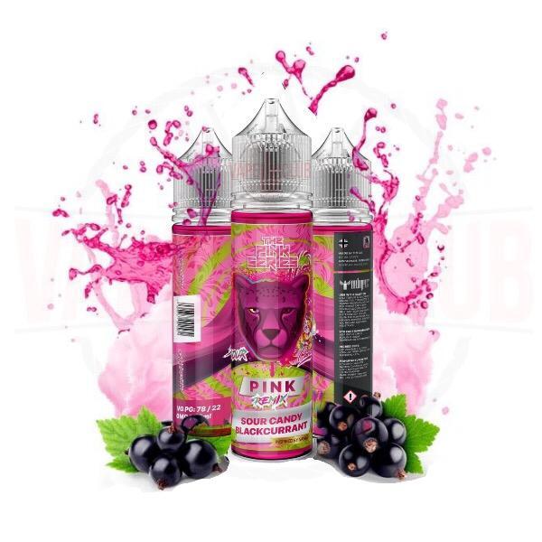 pink remix dr vapes 60ml Buy Online Vape Shop In Dubai Best DR Vape E-Liquid Candy - Sour Remix blackcurrant flavours Pink Panther Series Now Available Dubai