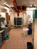 The CTD casting and recovery room in the main lab.