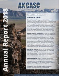 AK CASC Annual Report