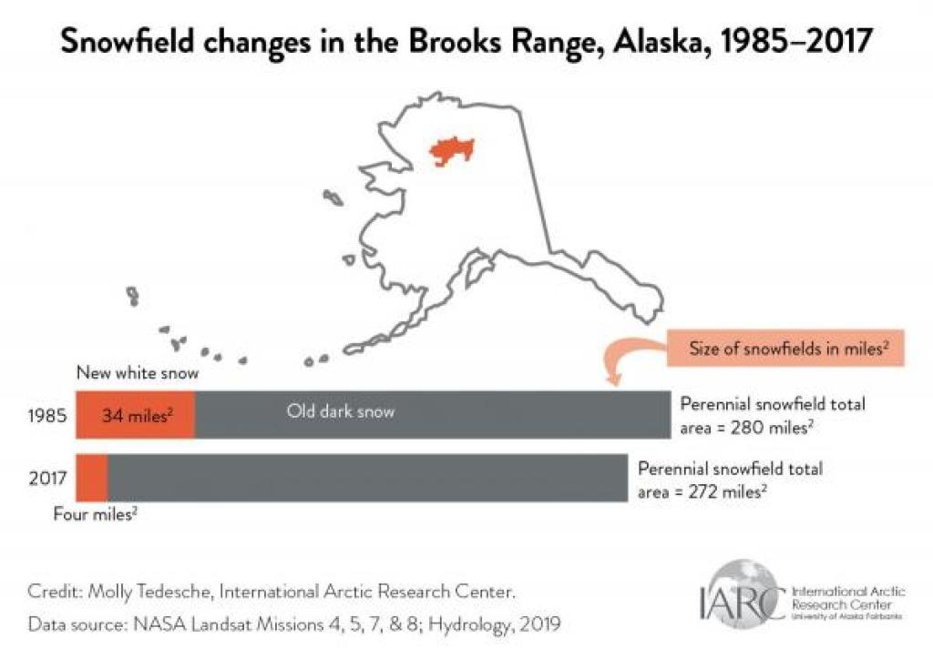 brooks range snowfields graph