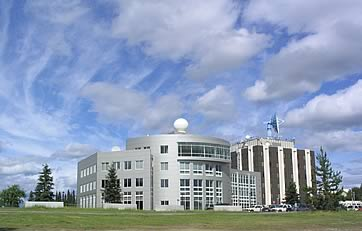 IARC and its affiliates are housed within the Syun-Ichi Akasofu Building, located on the West Ridge of the UAF campus.