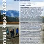 AK CASC Annual Report 2020 cover page