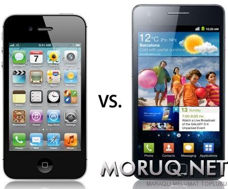 İphone və Galaxy S II
