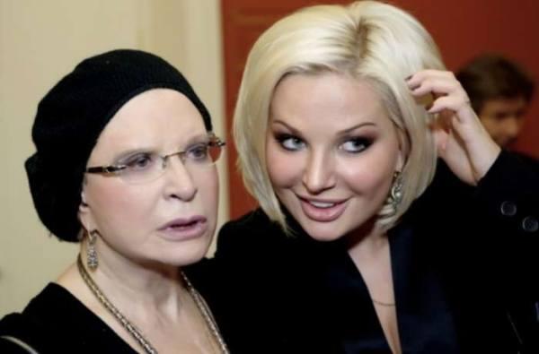 Людмила Максакова отказалась встречаться с дочерью Марией ...