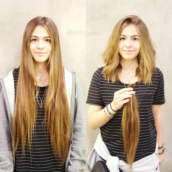 Женские Стрижки Фото До И После