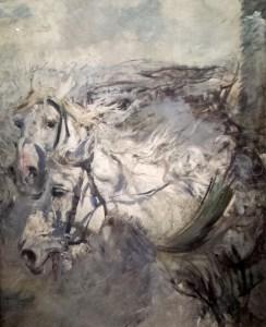 Due cavalli bianchi 1886  - Giovanni Boldini (Museo Boldini Ferrara)