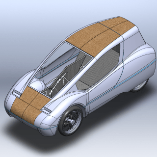 EcoCar Team Rendering - View 1