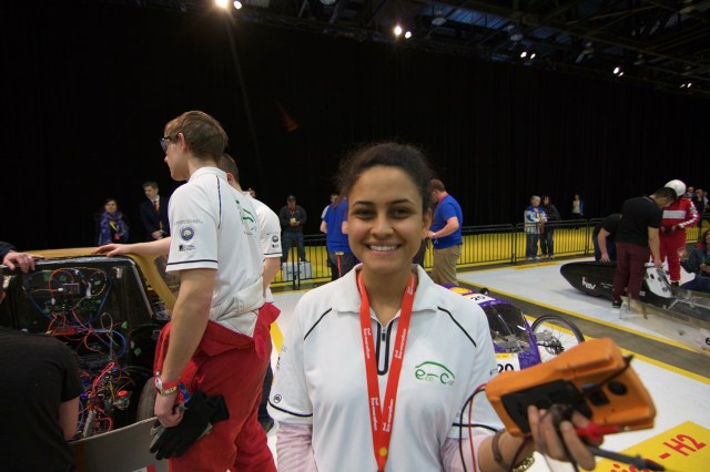 Salma, our Fuel Cells Lead!