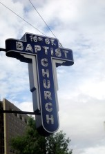 16th Street Baptist church was a pivotal meeting point in the Civil Rights Movement; in particular, it played a large roll in the Children's Crusade, as it served as the starting point of the march.