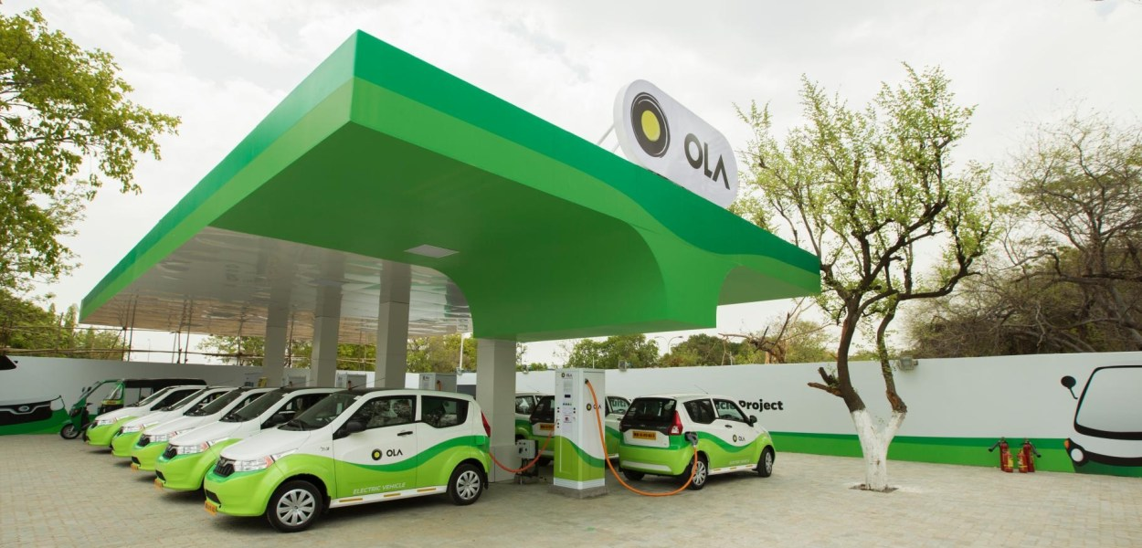 Ola is focusing on the Electric taxi business. Keeping this in mind company has started the Electric vehicle taxi category in London.