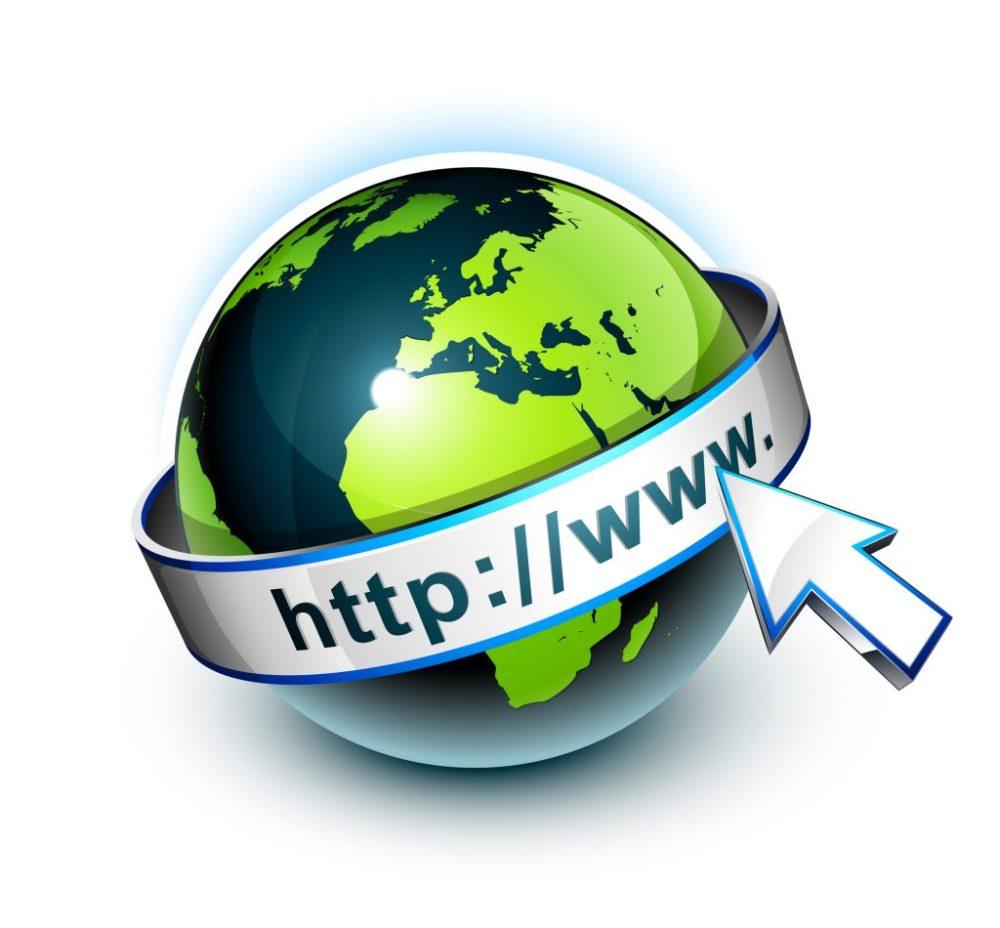 Concept internet communication