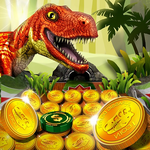 Jurassic Coin Dino Pusher 1.2.0 APK + MOD (Infinite Coins & More)