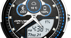 Driver Watch Face V1.2.22.105 APK Paid