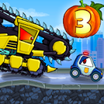 Car Eats Car 3 Evil Cars v1.6 + (Mod Money) download free