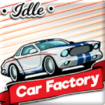 Idle Car Factory v9.5 b86 + (Mod Money) download free