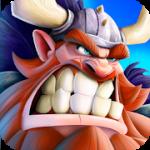 Viking Heroes War v 1.2.0 APK + Hack MOD (GOD MOD/1 HIT/Add 1k gold reward)