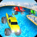 Water Slide Monster Truck Race v 1.1 Hack MOD APK (Money)